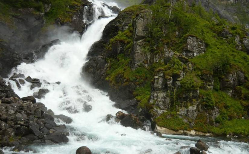 Wodospady na terenie Norwegii