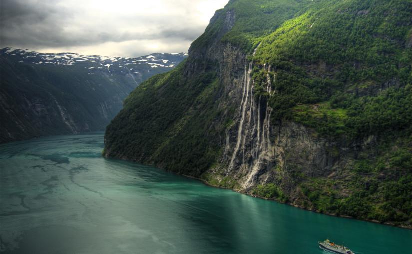 Norweskie zagłębie wodospadowe