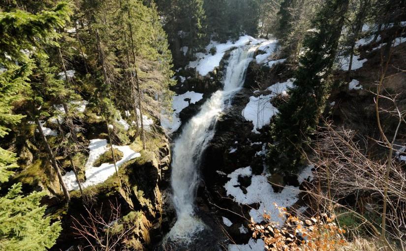Wodospad Kamieńczyka w Polsce