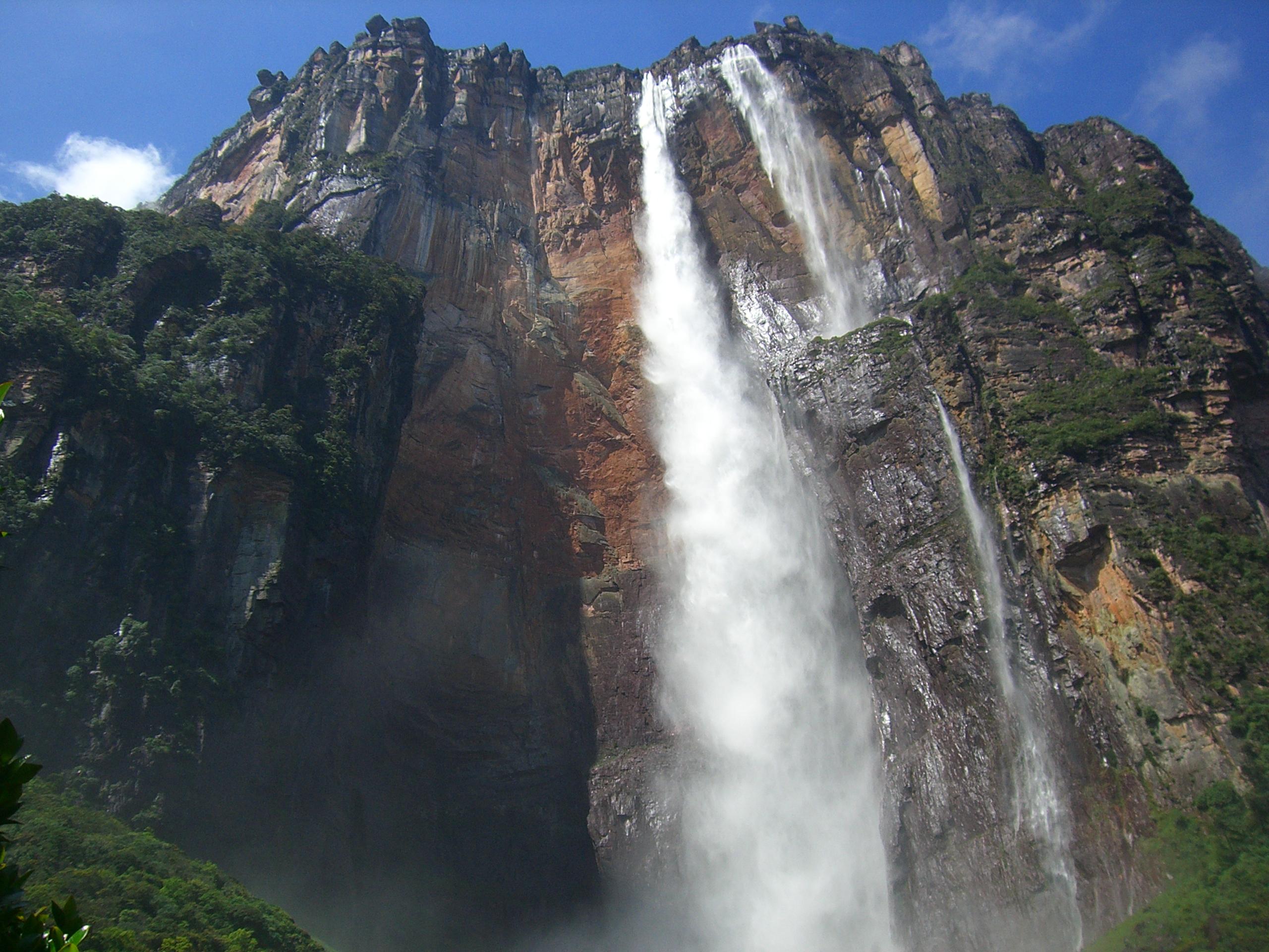 Najwyższe wodospady świata